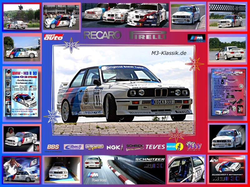 m3-klassik.de - BMW M3 E30, Daten, Technik, Motorsport, Buch, Galerie